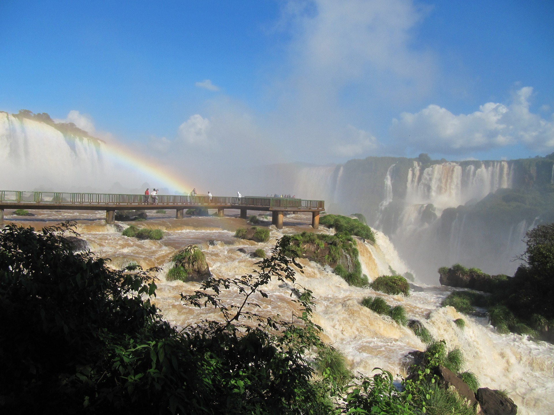 Iguazu Falls – One of the seven natural wonders of the world